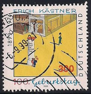 Germany 2028 Used - Erich Kastner - Writer