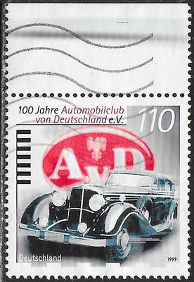 Germany 2035 Used - ‭‭‭German Automobile Club, Centenary