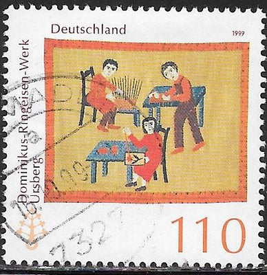 Germany 2046 Used - ‭Dominikus-Ringeisen Institution, Ursberg, 115th Anniversary