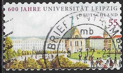 Germany 2539 Used - ‭Leipzig University, 600th Anniversary