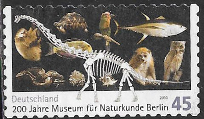 Germany 2555 Used - ‭‭‭Berlin Natural History Museum, 200th Anniversary