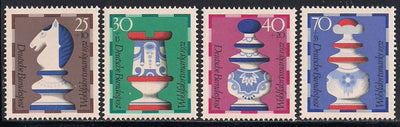 Germany B491-B494 MNH - Chess