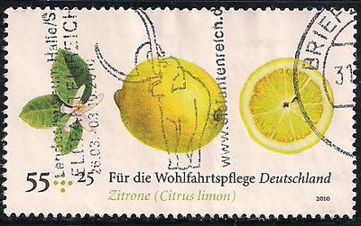 Germany B1027 Used - Lemon