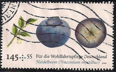 Germany B1029 Used - Blueberries