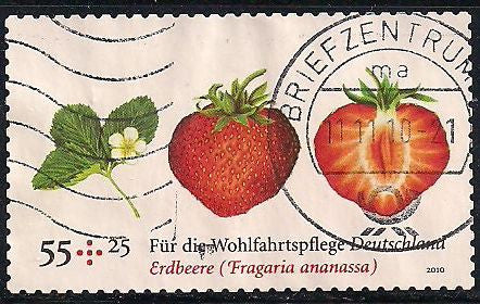 Germany B1030 Used - Strawberries