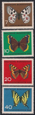 Germany B380-B383 MNH - Butterflies