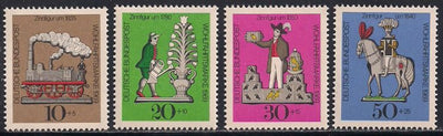 Germany B450-B453 MNH - Tin Toys