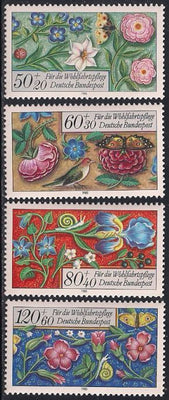 Germany B636-B639 MNH - Prayer Book