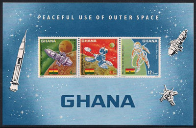 Ghana 307a MNH - Peaceful Use of Outer Space