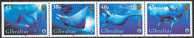 Gibraltar 1037 MNH - World Wildlife Fund (WWF) - Giant Devil Ray