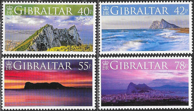 Gibraltar 1104-1108 MNH - Views of Gibraltar