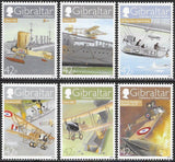 Gibraltar 1183-1188 MNH - ‭‭Naval Aviation Centenary