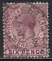 Gibraltar 82 Used - George V