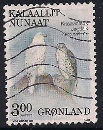Greenland 177 Used - Birds - Gyrfalcon
