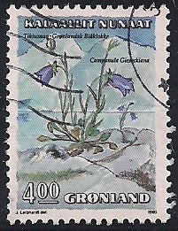 Greenland 189 Used - Flower