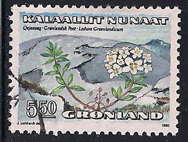 Greenland 192 Used - Flower
