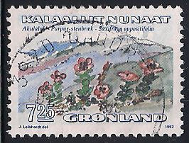 Greenland 194 Used - Flower