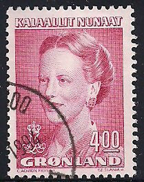 Greenland 224 Used - Queen Margarethe