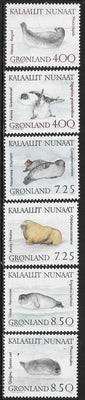 Greenland 233-238 MNH - Walruses & Seals