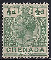 Grenada 91 Unused/Hinged Unused/Hinged - Hinge Remnant - George V