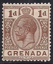 Grenada 93 Unused/Hinged Unused/Hinged - Hinge Remnant - George V