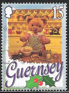 Guernsey 609 Used - ‭‭Christmas - Teddy Bear