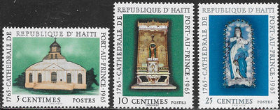 Haiti 529-531 & C246-C248 MNH - Metropolitan Cathedral of Port-Au-Prince 200th Anniversary