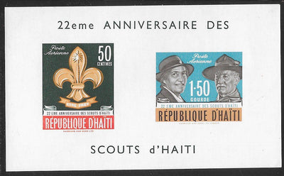 Haiti Not Listed (Noted in Scott - Like C194-C95) MNH - ‭Scouts