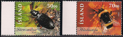 Iceland 1027-1028 MNH - Insects