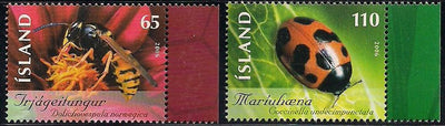 Iceland 1089-1090 MNH - Insects