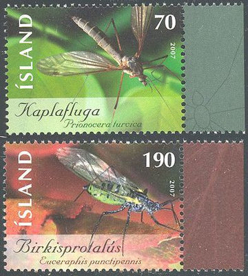 Iceland 1121-1122 MNH - Insects
