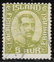 Iceland 112 Used - King Christian X