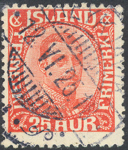 Iceland 121 Used - King Christian X