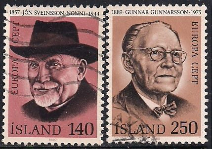 Iceland 528 Used - Europa - Writers