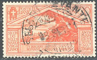 Italy 249 Used - Birth of Virgil