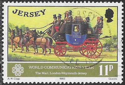 Jersey 311 Used - Wold Communications Year - ‭London-Weymouth Mail Coach