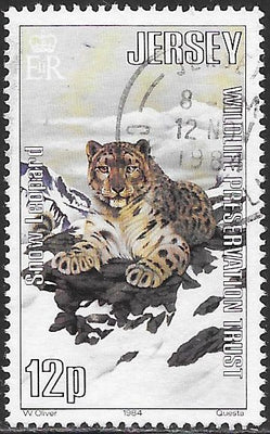Jersey 321 Used - ‭Jersey Wildlife Preservation Trust - Snow Leopard