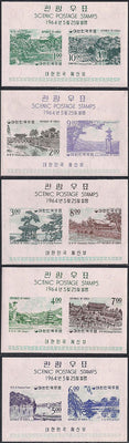 Korea 439a-446a MNH - Scenic Views