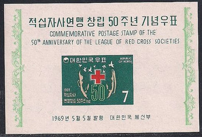 Korea 654a MNH - Red Cross