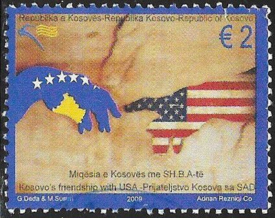 Kosovo 128 Used - Friendship with United States