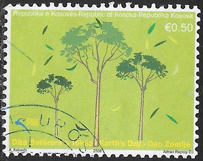 Kosovo 98 Used - Earth Day - Trees