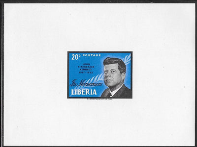 Liberia Unlisted in Scott MNH - John F. Kennedy - Imperforate