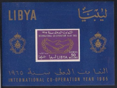 Libya C51a MNH - United Nations Cooperation Year