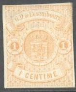 Luxembourg 4 Unused/Hinged - Partial Gum - Coat of Arms