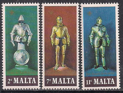 Malta 518-520 MNH - Suits of Armor