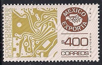 Mexico 1137 MNH - Exporta - Circuit Boards
