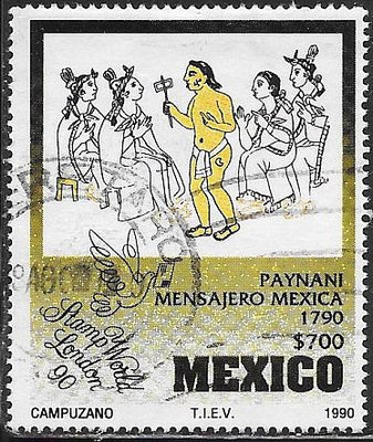 Mexico 1645 Used - ‭Stamp World '90
