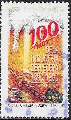Mexico 1680 Used - ‭‭‭Mexican Brewing Industry, Centenary