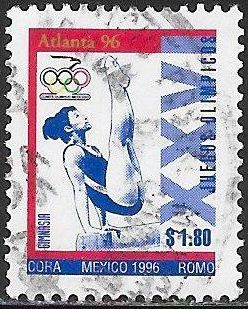Mexico 1985a Used - ‭‭‭1996 Summer Olympics - ‭Women's Gymnastics
