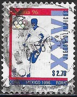 Mexico 1985b Used - ‭‭‭1996 Summer Olympics - ‭Soccer